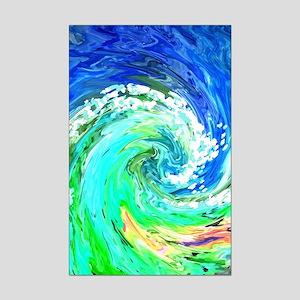 Waves Mini Poster Print