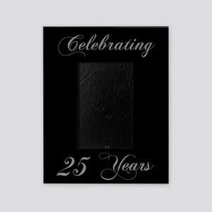25th Wedding Anniversary Picture Frame