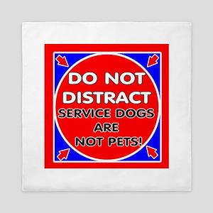 SERVICE DOGS NP Queen Duvet