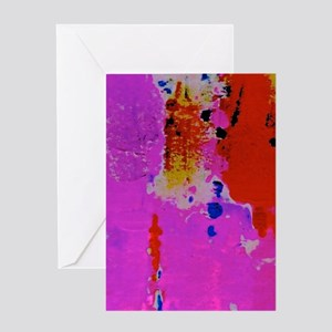 Paint Splotches Greeting Cards