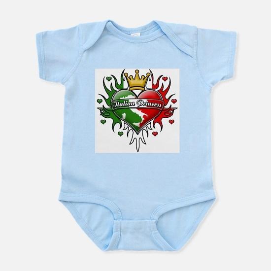 Italian Princess Tribal Design Infant Bodysuit