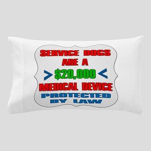 SERVICE DOG Pillow Case