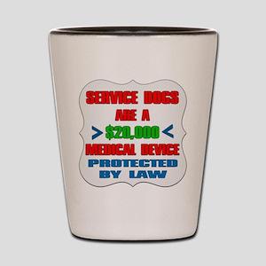 SERVICE DOG Shot Glass