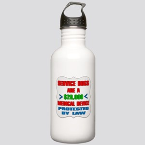 SERVICE DOG Water Bottle