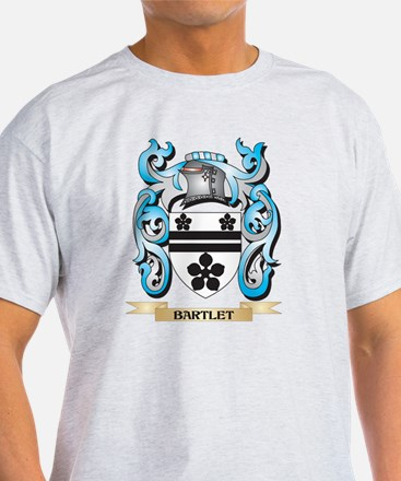 Bartlet Coat of Arms - Family Crest T-Shirt