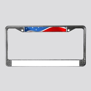usa american flag License Plate Frame