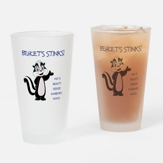 BEHCETS STINKS! Drinking Glass