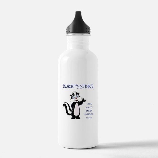 BEHCETS STINKS! Water Bottle