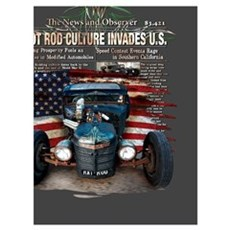 Hot Rod Invasion Framed Print