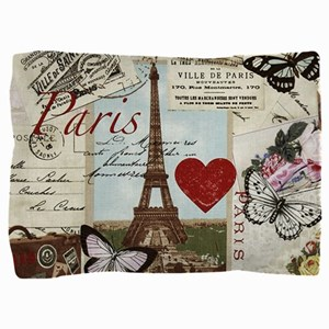 Paris Memories Pillow Sham