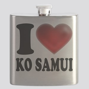 I Heart Ko Samui Flask