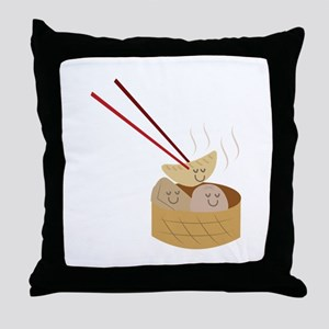 Dim Sum Throw Pillow