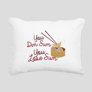 You Dim Sum Rectangular Canvas Pillow