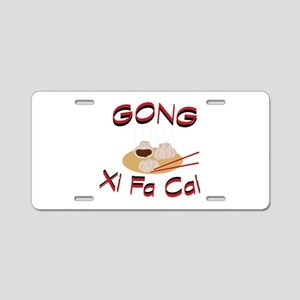 Gong Xi Fa Cai Aluminum License Plate