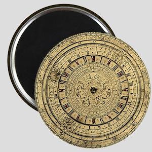 old gutenberg clock Magnet