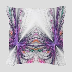 Abstarct Butterfly Woven Throw Pillow