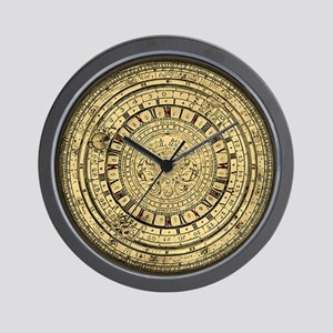 old gutenberg clock Wall Clock