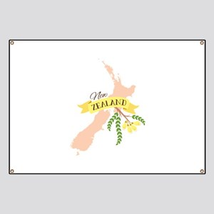 New Zealand Kowhai Banner