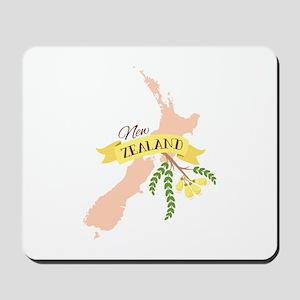 New Zealand Kowhai Mousepad