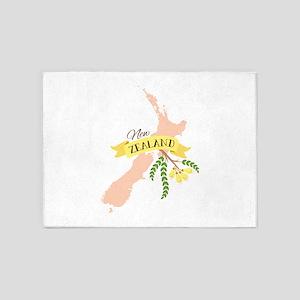 New Zealand Kowhai 5'x7'Area Rug