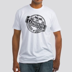 London Stamp Black T-Shirt