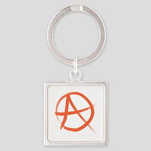 Anarchy Symbo Keychains