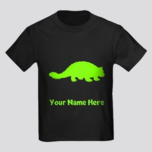 Ankylosaurus Silhouette (Green) T-Shirt