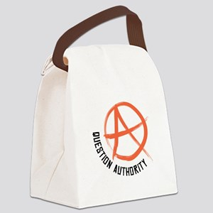 Question Authority Canvas Lunch Bag