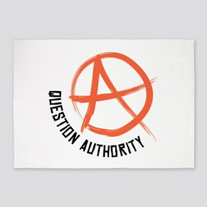 Question Authority 5'x7'Area Rug