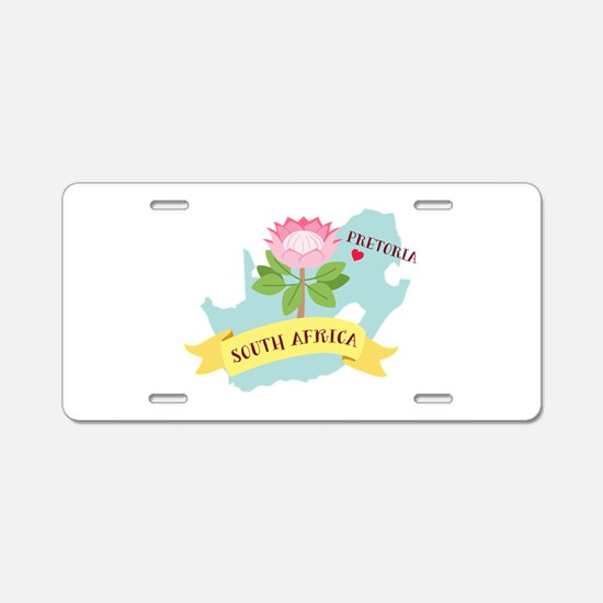 Pretoria South Africa Aluminum License Plate