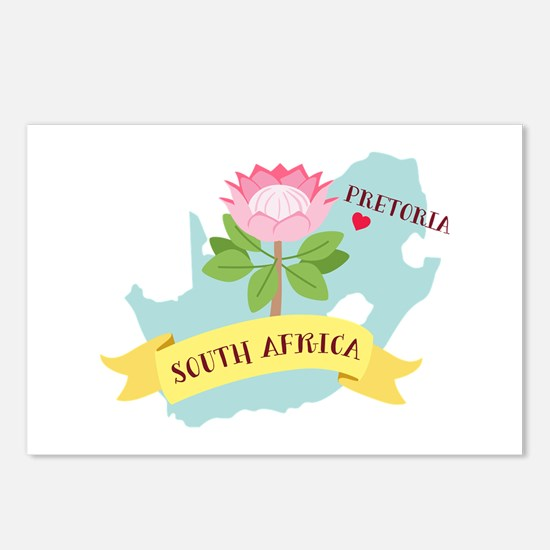 Pretoria South Africa Postcards (Package of 8)