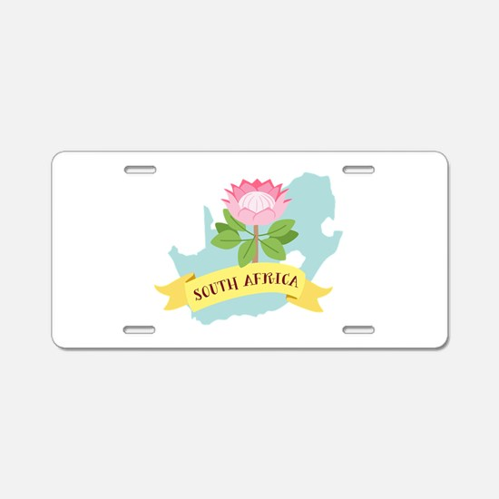 South Africa Aluminum License Plate