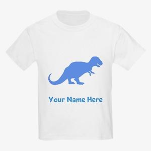 Tyrannosaurus Rex Silhouette (Blue) T-Shirt