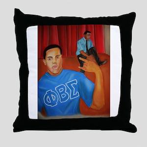 Steppin' Throw Pillow