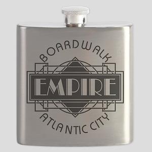 Boardwalk Empire Art Deco Flask