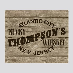 Nucky Thompson's Whiskey Throw Blanket