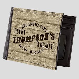 Nucky Thompson's Whiskey Mens Wallet