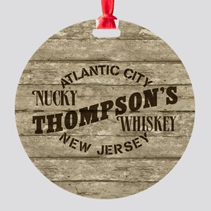 Nucky Thompson's Whiskey Ornament