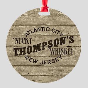Nucky Thompson's Whiskey Ornament