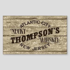 Nucky Thompson's Whiskey Sticker