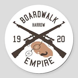 Harrow Boardwalk Empire Round Car Magnet