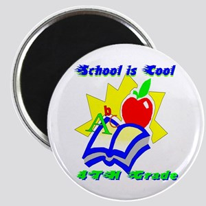 "4th Grade School is Cool 2.25"" Magnet (10 pack)"