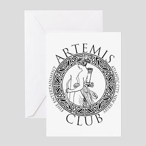 Artemis Club Boardwalk Empire Greeting Cards