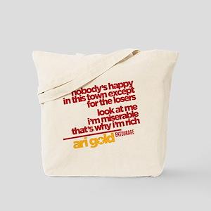 Ari Nobody's Happy Entourage Tote Bag