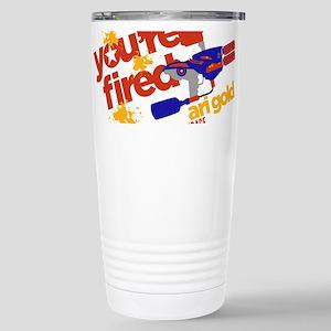 Ari Gold Paintball You're Fired Travel Mug