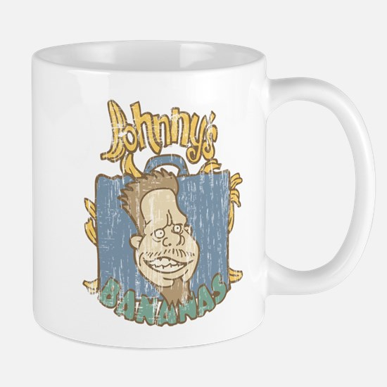 Retro Johnny's Bananas Entourage Mugs