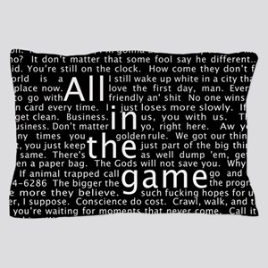 The Wire Epigraph Pattern Pillow Case