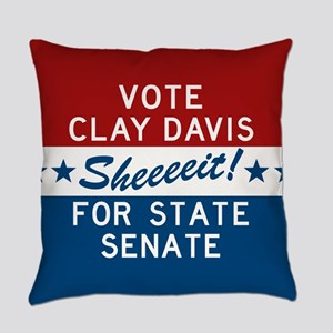Vote Clay Davis The Wire Everyday Pillow