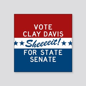 Vote Clay Davis The Wire Sticker