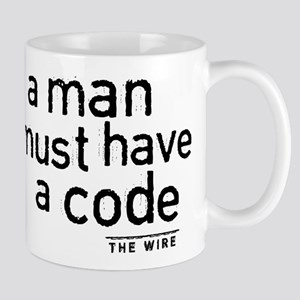 A Man Must Have A Code Mugs